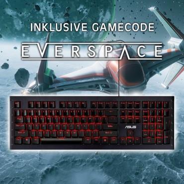 "Mechanische Gaming Tastaturen (ASUS) 30-40% reduziert inkl. GRATIS Spiel ""EVERSPACE"" (plus weitere Produkte stark reduziert!)"