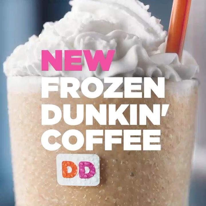Gratis Dunkin' Donuts Frozen Drink Größe M [per App]