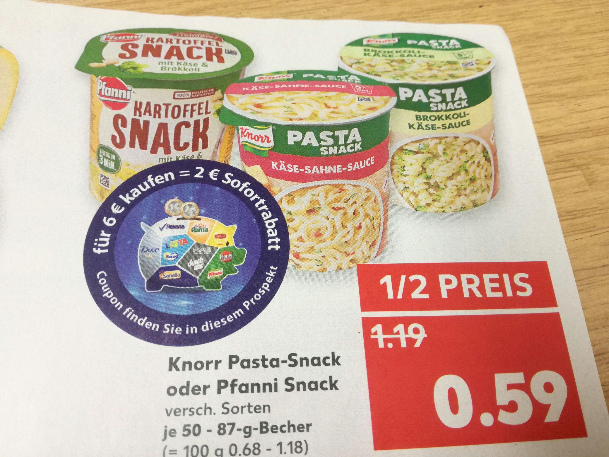 Knorr oder Pfanni Terrine für knapp 41 Cent
