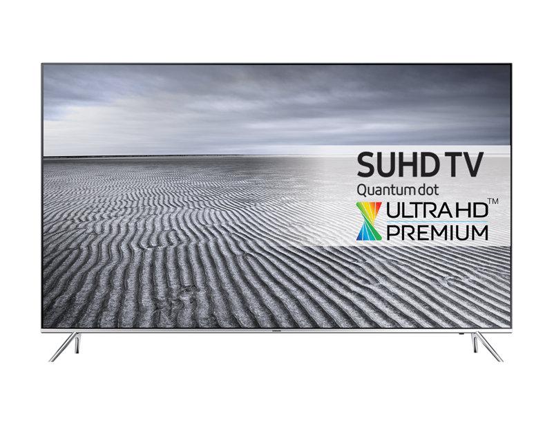 Samsung UE55KS7090, SUHD 4K, HDR1000, QuantumDot Color, 10 Bit Farbwiedergabe, Ultra HD Premium, Local Dimming, USB-Recorder, Sprachsteuerung, 40W Musikleistung