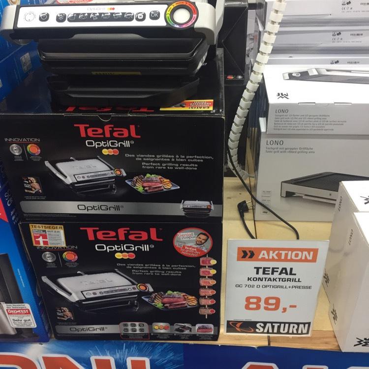 Tefal Kontaktgrill GC 702 D Optigrill+Presse