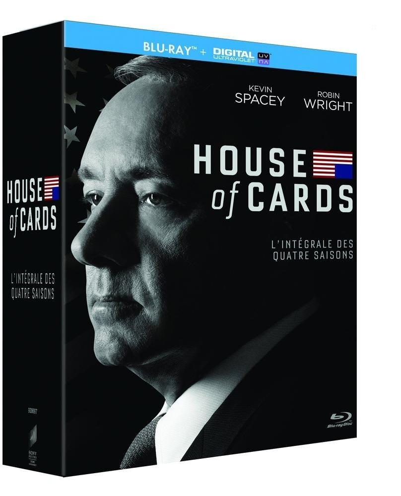 House of Cards - Staffeln 1 - 4 (Blu-ray + UV Copy) für 27,06€ (Amazon.fr)