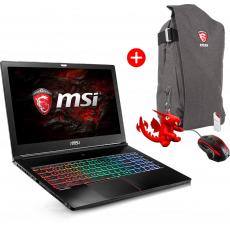 Notebook - MSI GS63VR Stealth Pro– Ultra - 15% Rabatt und Kostenlose Zugaben - 1486€ (Geizhals 1699€)
