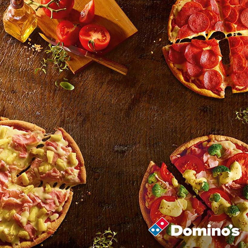 Telekomkunden: MegaDeal der Woche - GRATIS PIZZA BEI DOMINO'S