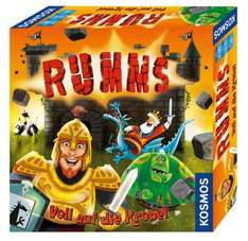 Rumms - Voll auf die Krone (Brettspiel, Schnippspiel, Milan-Spiele.de)