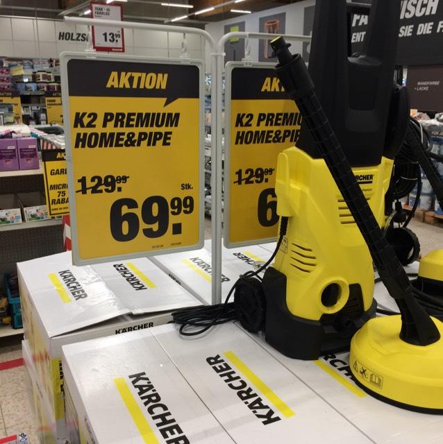 [Lokal Schwetzingen] Kärcher Hochdruckreiniger K2 Premium Home&Pipe