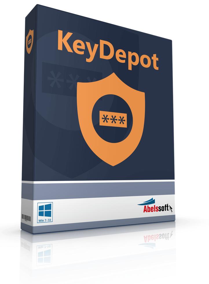 Passwort-Manager KeyDepot 2018 gratis statt 29,90€ [Heise]