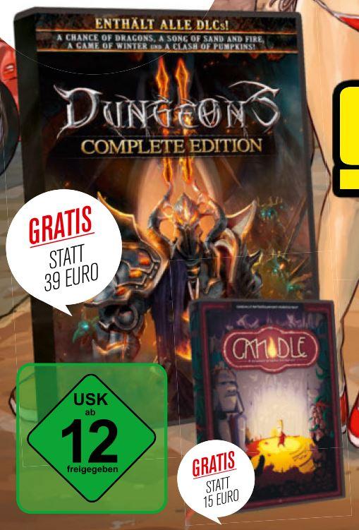 Dungeons 2 plus 3 DLC bei CBS-Heft-DVD 11.2017