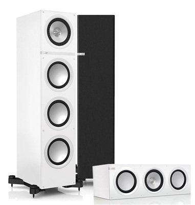 KEF 3.0 System bestehend aus 2x Q700 Standlautsprecher und 1x Q600C Center in weiß