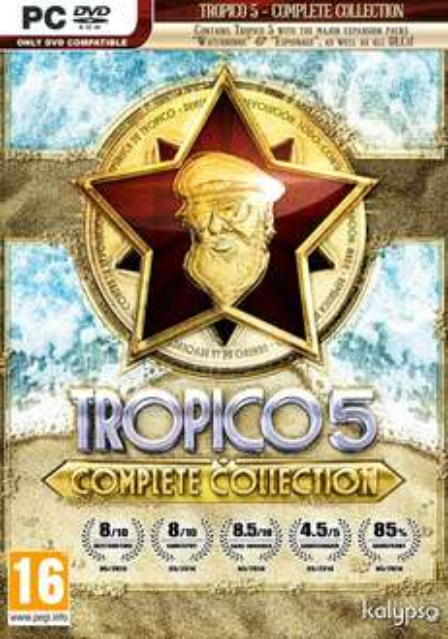 Tropico 5 - Complete Collection (Steam) für 6,80€ (MacGameStore)