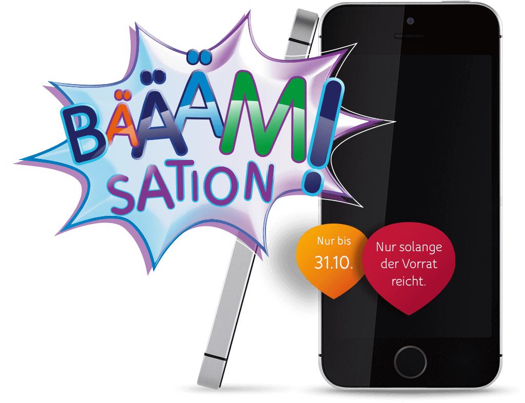 Neue BÄÄÄM!Sation bei Unitymedia - iPhone SE 16 GB Spacegrey für 289€