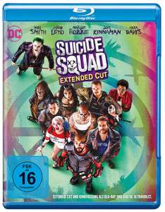 Suicide Squad - Extended Cut (Blu-Ray) bei Alphamovies für 6,94 + VSK