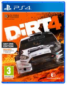 DiRT 4: Day One Edition (PS4 & Xbox One) für je 32,95€ (Coolshop)
