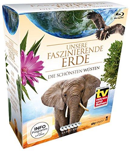 Unsere faszinierende Erde - Die schönsten Wüsten, Die Komplettbox - Limited Edition auf 6 Blu-rays für 11,97€ (Amazon Prime)