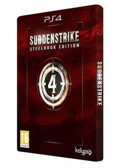 Sudden Strike 4: Steelbook Edition (PS4) für 41,38€ (Base.com)