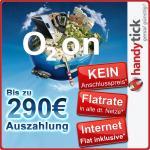 Flatrate alle Netze+Daten mit zu 270€ bzw 290€ Auszahlung für Gewerbetreibende