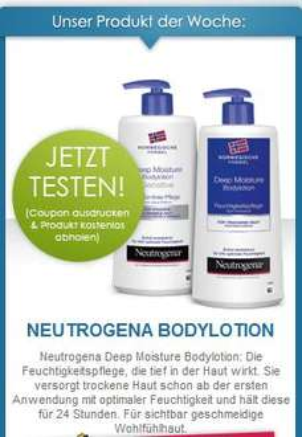 Facebook Rossmann Produkt-Tester:NEUTROGENA BODYLOTION