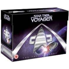 Star Trek Voyager komplette Box 7 Staffeln 48 DVD´s dt. Ton @ amazon.co.uk 78€