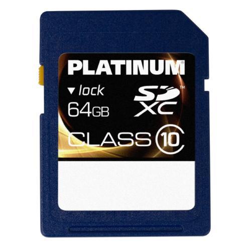 Platinum SDXC Karte 64 GB Class10 für 27,31 € @Digitalo