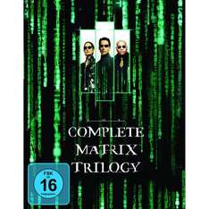 Matrix - The Complete Trilogy [Blu-ray] (deutsch) @amazon.de für 19,97 EUR