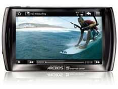 """ARCHOS 5 Internet Tablet 16 GB 12 cm (4.8"""") Touchscreen WiFi Bluetooth Android 59.-EUR"""