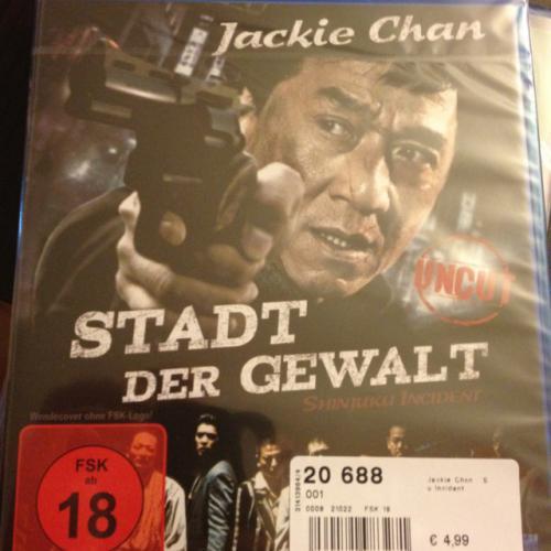 Jackie Chan - Stadt der Gewalt Uncut BluRay @ MediMax für 4,99 Euro