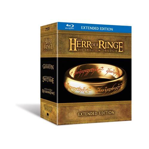 Der Herr der Ringe - Die Spielfilm Trilogie (Extended Edition) [Blu-ray] @amazon.de für 54,97