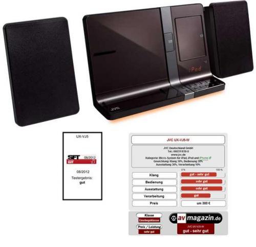 [EURONICS ONLINE] JVCUX-VJ 5 T CD-Micro-System mit iPod-Dock
