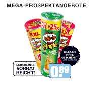 Pringles XXL-Dose nur 89cent beim Segmüller Megastore