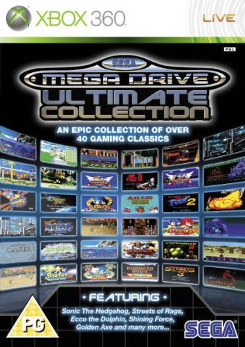 XBOX 360 Sega Megadrive Ultimate Collection[zavvi]