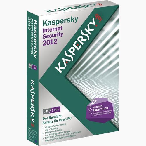 Kaspersky Internet Security 2012 / 2013 - 3 PC's  / 1 Jahr ABGELAUFEN