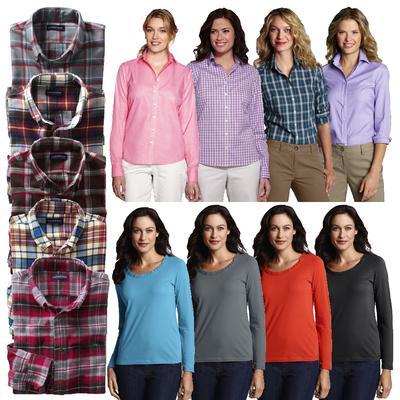 LANDS' END Herren Freizeit Hemden Damenblusen Damenshirts viele Farben Ebay WoW @ 12,95€