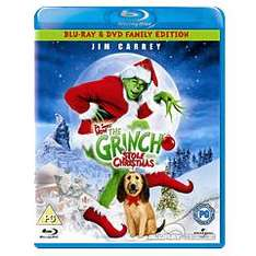 "(UK) Der Grinch  - 2 - Disk Edition [Blu-Ray & DVD] inkl. deutscher Tonspur für €5.65 @ play (Zoverstock""ings"")"
