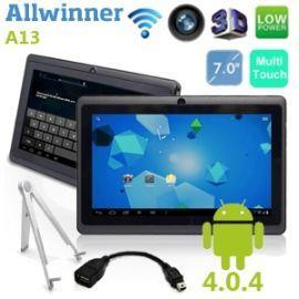 Allwinner A13 Android 4.0 Tablet - low budget Gerät für Alle mit wenig Anspruch zum guten Preis