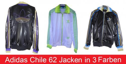 Adidas Chile 62 Jacken, Gr. XS-XL, in 3 verschiedenen Farben für 32,95 €