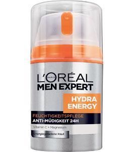 Gegen müde Männerhaut: L'Oréal Men Expert Hydra Energy Feuchtigkeitspflege für 3,55€ bei Kaufland durch Rabatt-Coupon
