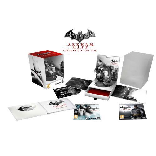 Batman Arkham City - PS3 Collectors Edition mit klasse Figur