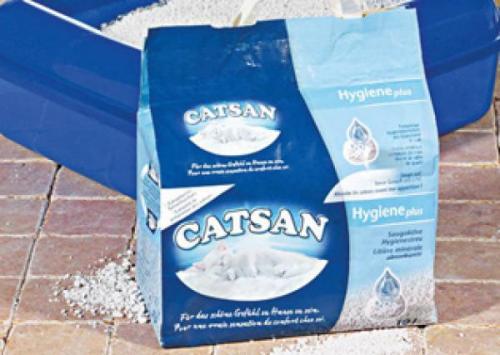 [Real] Catsan Hygiene Streu (20l) oder Ultra Klumpstreu (10l) für 5,49€, bei 3 Packungen inkl. Litter Locker II (Mülleimer)