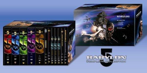 Spacecenter Babylon 5 - Complete Collection [37 DVDs] + 10€ Fashion Gutschein + qipu