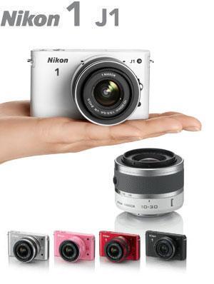 Nikon 1 J1 Systemkamera (10 Megapixel, 7,5 cm (3 Zoll) Display) schwarz (WAREHOUSEDEALS ab 250 EURO)
