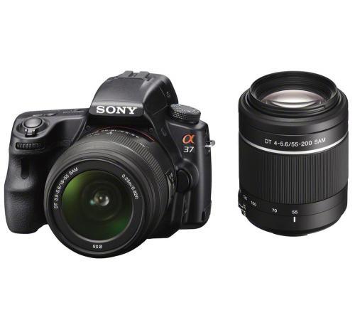 Sony Alpha A37 mit 2 Objektiven - SLT-A37Y inkl. Kameratasche und 4GB Speicherkarte