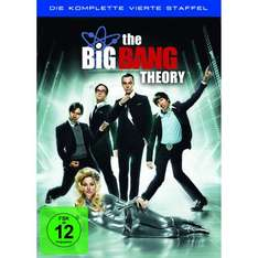 [AMAZON] The Big Bang Theory - Die komplette vierte Staffel für 19,97