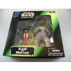 Star Wars The Power of the Force Actionfigur Kabe and Muftak für 3.99€ @ ebay.de