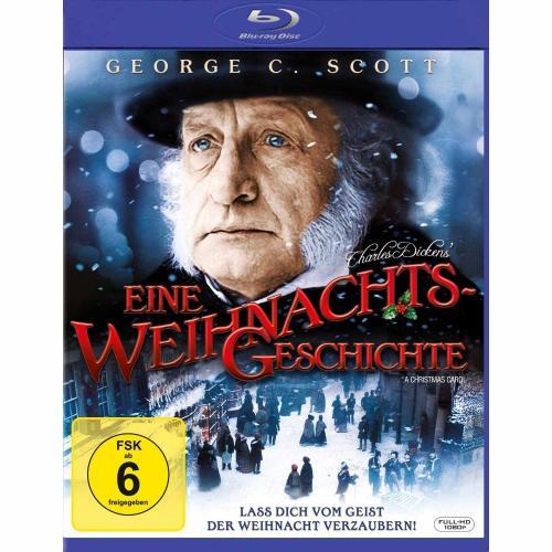 Charles Dickens - Eine Weihnachtsgeschichte [Blu-ray] 7,99 Euro @Amazon.de