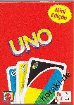 Mini-Uno wieder da: 2,- EUR / Stück + 1,- Versand!