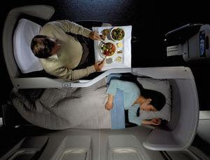 Flug: In Business Class (fully flat bed) von London nach Seoul für 971,- € return mit BA - mit Economy-Zubringer ab/bis Köln für 1121,- € (Dezember)
