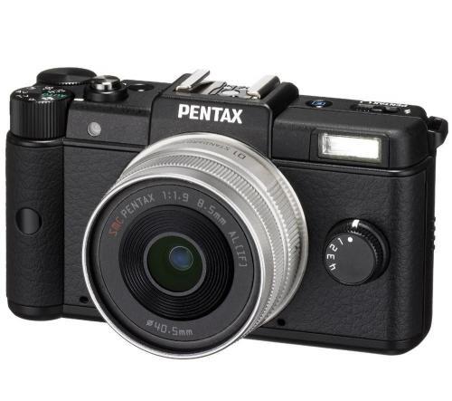 Pentax Q mit 47mm f1.9 Objektiv (black) für 239€