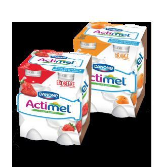 Danone Actimel 4x100 Gramm für 1€