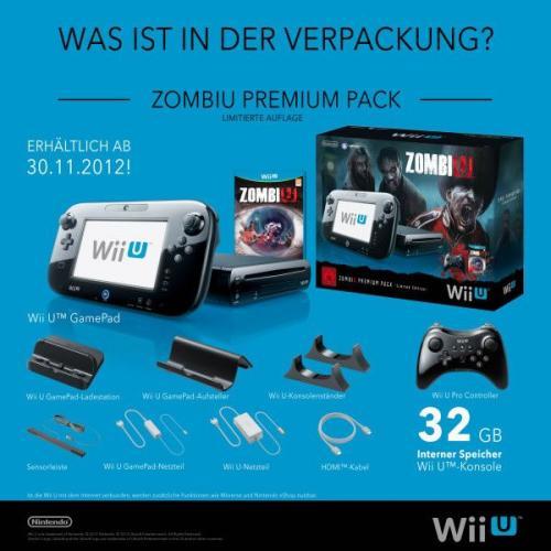 Wii U Premium Zombie  Pack 369€