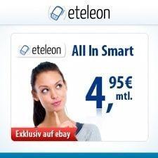 All In Smart Tarif: Flat ins o2 Netz + 100 Frei-SMS + Internet Flat für NUR 4,95€ monatlich